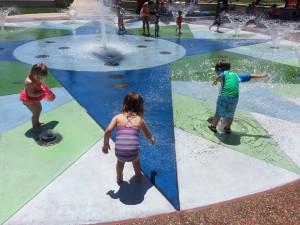 MH Central Park splash pad