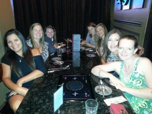 Moms Night Out at Simply Fondue 2014